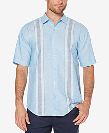 Cubavera Men's Dyed Panel Shirt
