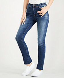 STS Blue Lucia High-Rise Straight-Leg Jeans