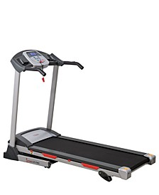 SF-T7603 Electric Treadmill w/ 9 Programs, 3 Manual Incline, Easy Handrail Controls & Preset Button Speeds, Soft Drop System