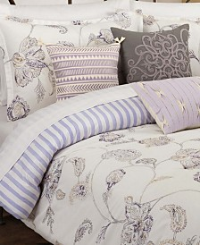 Painted Jacobean King Comforter Set