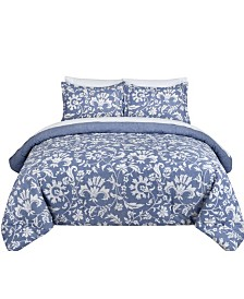 Porcelain Full/Queen Comforter Set