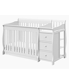 Storkcraft Portofino 4 in 1 Convertible Crib and Changer