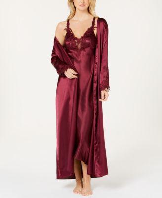 Stella Satin Venise Trim Robe