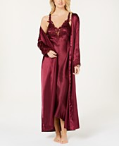 Flora by Flora Nikrooz Stella Satin Nightgown   Robe Collection 39d183a0a