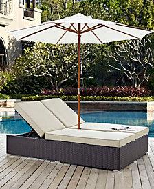 Convene Double Outdoor Patio Chaise