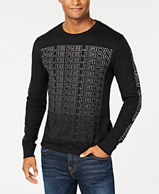 True Religion Men's Long-Sleeve Logo T-Shirt