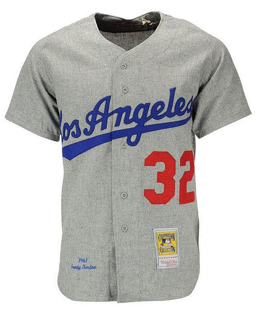 961d1ed1cdf ... Mitchell   Ness Men's Sandy Koufax Los Angeles Dodgers Authentic Jersey  ...