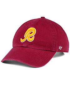 '47 Brand Washington Redskins CLEAN UP Strapback Cap