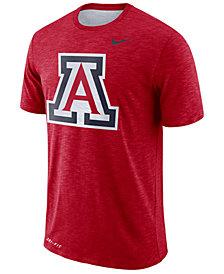 Nike Men's Arizona Wildcats Dri-FIT Cotton Slub T-Shirt