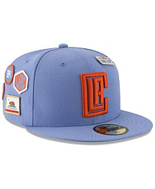 New Era Los Angeles Clippers City On-Court 59FIFTY FITTED Cap