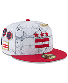 New Era Washington Wizards City On-Court 59FIFTY FITTED Cap