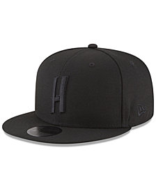 New Era Atlanta Hawks Alpha Triple Black 59FIFTY FITTED Cap