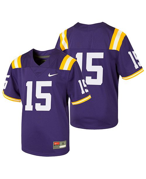 official photos bf07b 41604 LSU Tigers Replica Football Game Jersey, Little Boys (4-7)
