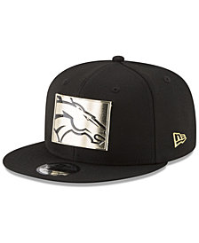New Era Denver Broncos Gold Stated 9FIFTY Snapback Cap