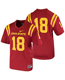 Nike Iowa State Cyclones Replica Football Game Jersey, Big Boys (8-20)