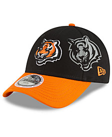New Era Boys' Cincinnati Bengals Side Flect 9FORTY Cap