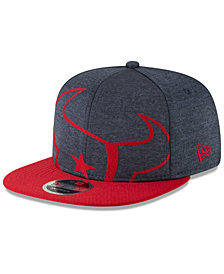 New Era Houston Texans Oversized Laser Cut 9FIFTY Snapback Cap
