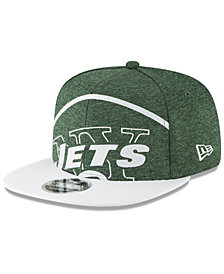 New Era New York Jets Oversized Laser Cut 9FIFTY Snapback Cap