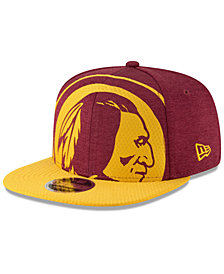 New Era Washington Redskins Oversized Laser Cut 9FIFTY Snapback Cap