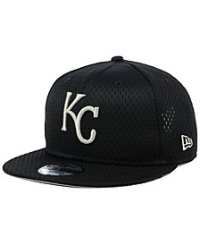 New Era Kansas City Royals Batting Practice Mesh 9FIFTY Snapback Cap