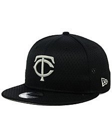 New Era Minnesota Twins Batting Practice Mesh 9FIFTY Snapback Cap