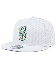 New Era Seattle Mariners Batting Practice Mesh 9FIFTY Snapback Cap