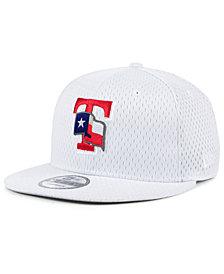 New Era Texas Rangers Batting Practice Mesh 9FIFTY Snapback Cap