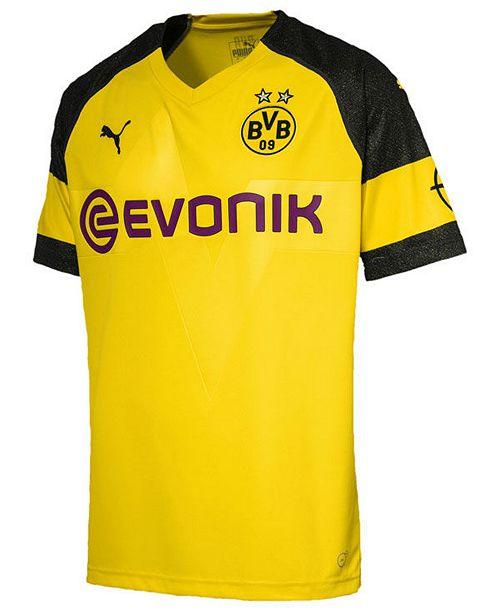 Puma Borussia Dortmund Club Team Home Stadium Jersey, Big Boys (8-20)