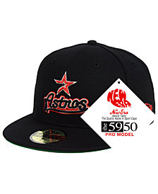 New Era Houston Astros Retro Stock 59FIFTY FITTED Cap