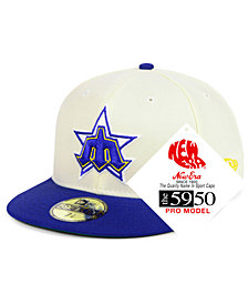 New Era Seattle Mariners Retro Stock 59FIFTY FITTED Cap