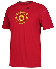 adidas Men's Manchester United International Club Team Tiled T-Shirt
