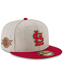 New Era St. Louis Cardinals Leather Ultimate Patch Collection 59FIFTY FITTED Cap