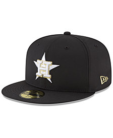 New Era Houston Astros Prolite Gold Out 59FIFTY FITTED Cap