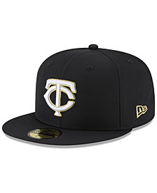 New Era Minnesota Twins Prolite Gold Out 59FIFTY FITTED Cap