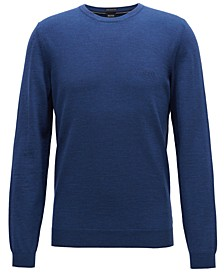 BOSS Men's Virgin Wool Crew Neck Sweater