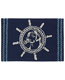"Liora Manne Front Porch Indoor/Outdoor Seadog Marine 2'6"" x 4' Area Rug"