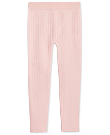 Epic Threads Little Girls Fleece-Lined Sweater Leggings, Created for Macy's