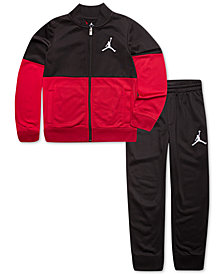 Jordan Little Boys 2-Pc. Colorblocked Jacket & Pants Set