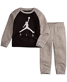 Jordan Toddler Boys 2-Pc. Air-Print Top & Pants Set