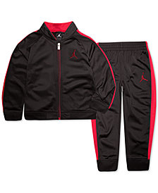 Jordan Little Boys 2-Pc. Colorblocked Track Suit Set