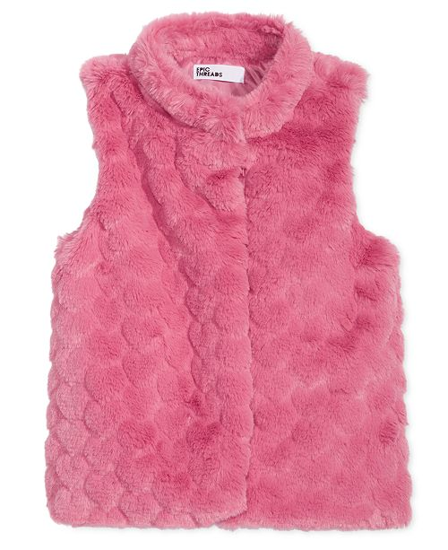 b9e02eaa4 Epic Threads Toddler Girls Faux Fur Vest