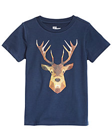Epic Threads Toddler Boys Deer T-Shirt, Created for Macy's