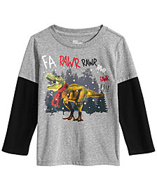 Epic Threads Little Boys Dino Rawr Shirt, Created for Macy's