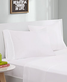 Intelligent Design Cotton Blend Jersey Knit 3-PC Twin XL Sheet Set