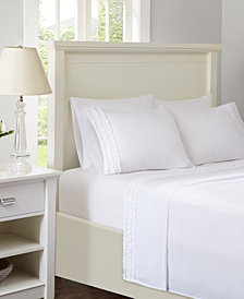 Intelligent Design Ruffled 4-PC Twin Sheet Set