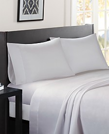 Madison Park Essentials Micro Splendor 4-PC Full Sheet Set