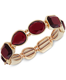 Nine West Crystal Stretch Bracelet