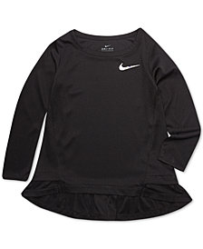 Nike Toddler Girls Dri-FIT Peplum T-Shirt
