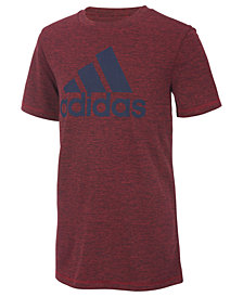 adidas Big Boys Climalite® Logo-Graphic T-Shirt