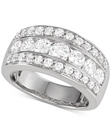 Band (2 ct. t.w.) in 14k White Gold